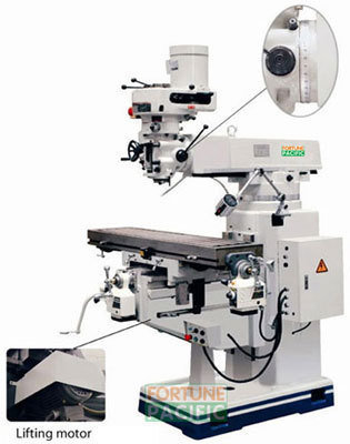 Mf30 universal turret milling machine