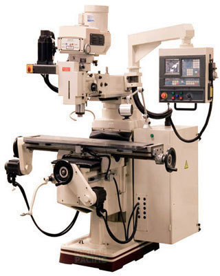 Mf25 nc universal turret milling machine