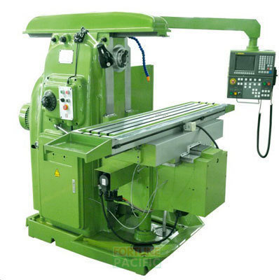 Uhm32 nc heavy duty horizontal knee type milling machine