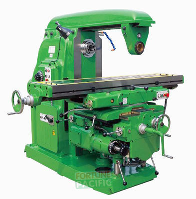 Uhm40 heavy duty universal knee type milling machine