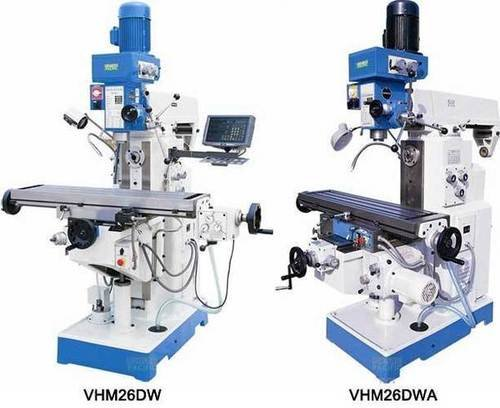 Vhm26 dw dwa horizontal and vertical drilling milling machine
