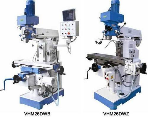 Vhm26 dwz dwb horizontal and vertical drilling milling machine