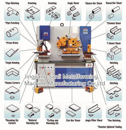 Sanli hydraulic ironworker