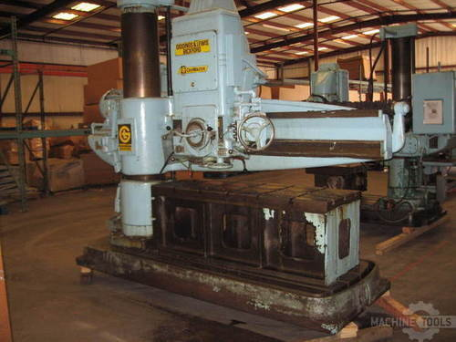 Giddings   lewis bickford chipmaster model 954 radial arm drill