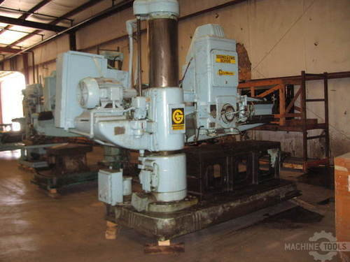 Giddings   lewis bickford chipmaster model 954 radial arm drill2