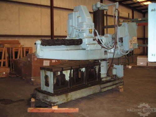 Giddings   lewis bickford chipmaster model 954 radial arm drill3