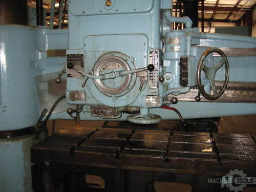Giddings   lewis bickford chipmaster model 954 radial arm drill4