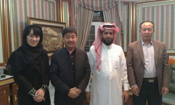 With almouhana in saudi arabia