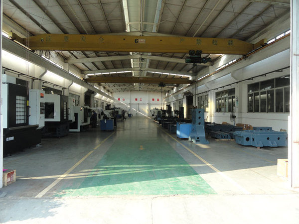 Cnc machine assembling line2