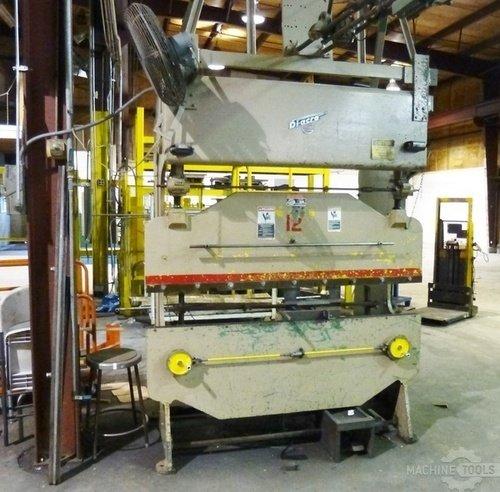 Di acro hydra power hydro mechanical model 16 72 25 ton press brake2