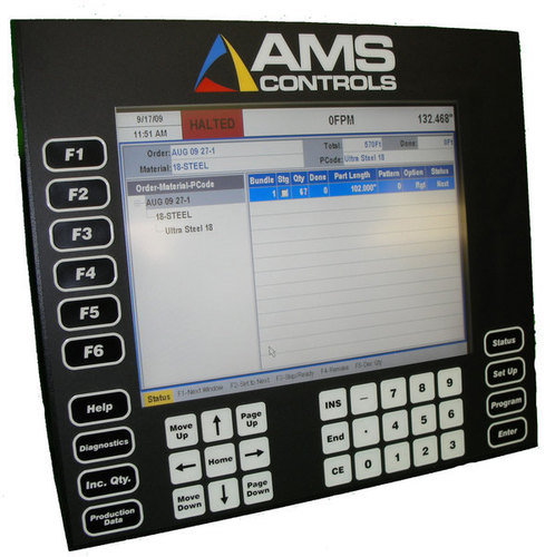 Xl200 roll forming controls