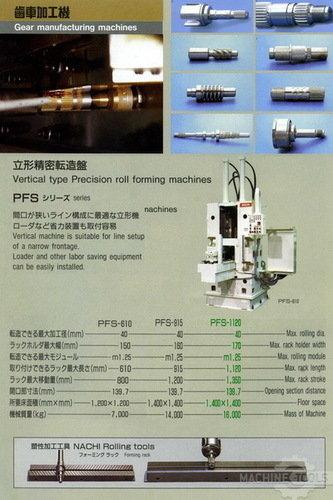 Pfs 1120 spec