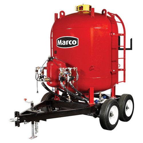 Blastmaster 160 cu  ft  abrasive blasting pot