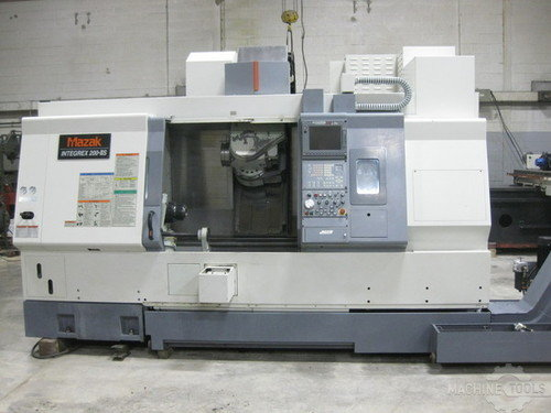 Mazak 200 s iii in warehouse 014