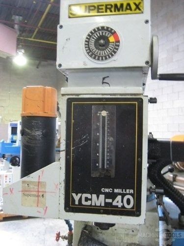 Supermax cnc knee mill with centroid m050 3 axis control 003