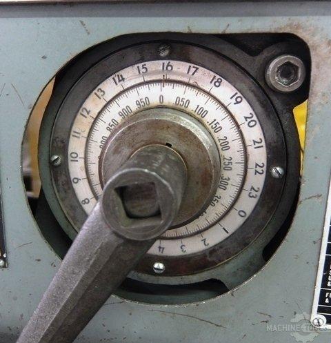 L s back gauge dial