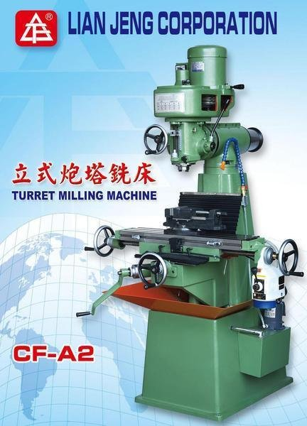 Cf a2 turret milling machine