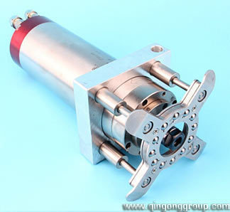 Cnc router pressure foot clamp