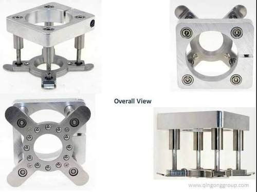 Cnc router pressure foot