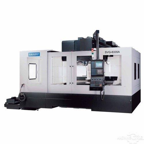 Vertical machining center model  svg 6335a