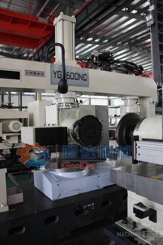 Cnc lathe machine four side2