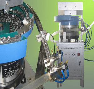 Automatic nut feeding system