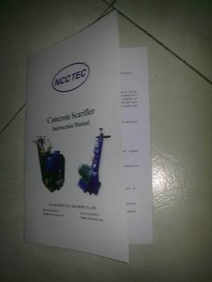 Ncctec scarifier manual