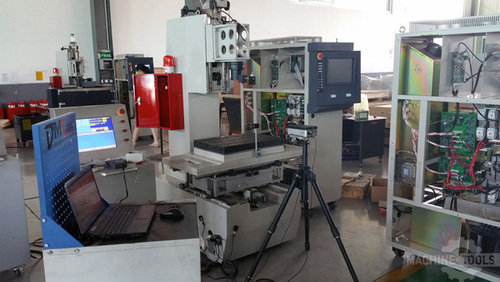Accuracy inspection with laser interferometer