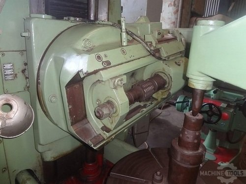 Pfauter p 630 gear hobbing head