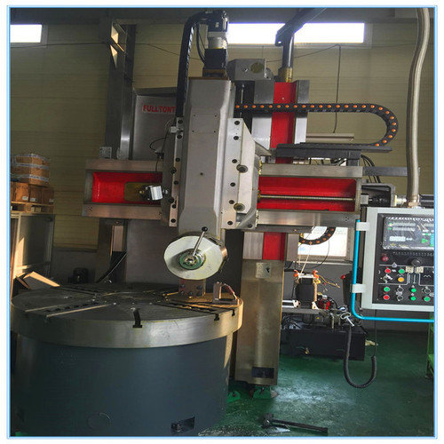 Single column vertical manual lathe machine