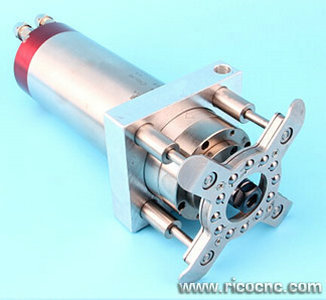 Assembly cnc pressure foot