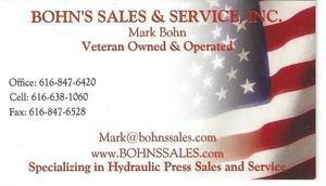 Bohn's Sales & Service, Inc.