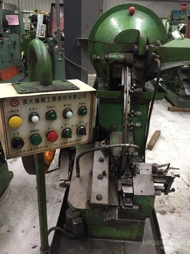 B513001 ding tai m5x50 headless thread rolling machine 7