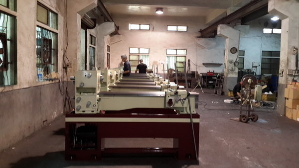 Assemble area  conventional lathe