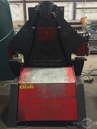 Edwards 120 ton ironworker back view