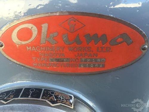 Used lathe usa okuma