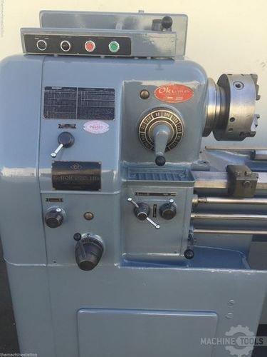Used engine lathe