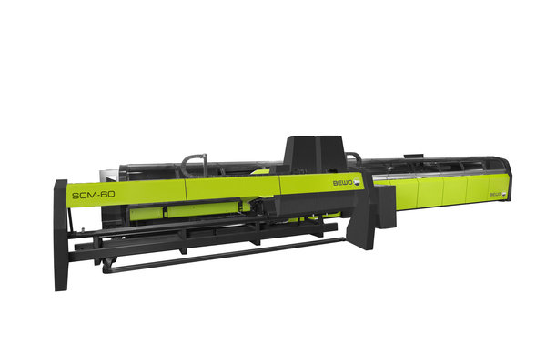 Sapphire cutting machine with deburring and chamfering