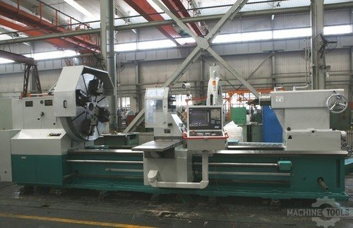 D f 1 250mm and 1 400mm x 10 000mm 49   55 x 33  cnc horizontal lathe. models ckf61125a 10000 and ckf61140a 10000 2