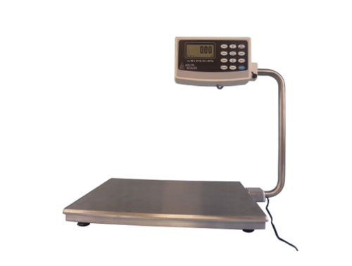 Bench scale transparent