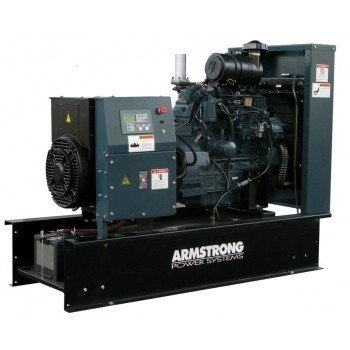 Kubota generator set a37kb open