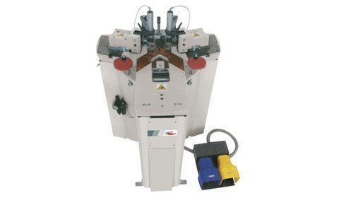 Vectra 120 semi automatic corner crimping machine by altech