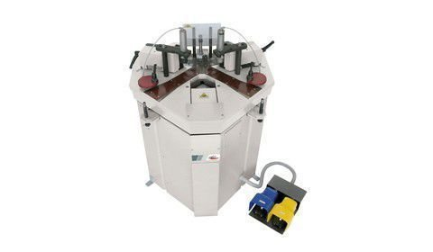 Vectra 150 semi automatic corner crimping machine by altech