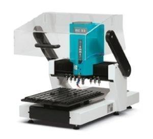 Mc 53 3 axis micro milling machine vertical by biemmepi