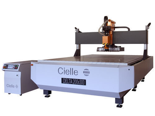 Delta 200 300 laser cutting machine cnc engraving by cielle