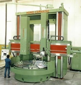 Tg20 cnc turning center vertical by mario carnaghi