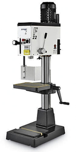 F22 electric drill manual bench top by serrmac