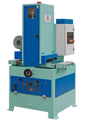 Gps belt grinding machine for flat surfaces by garboli