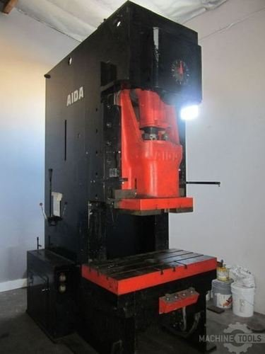 165 ton aida obi punch press 2621a