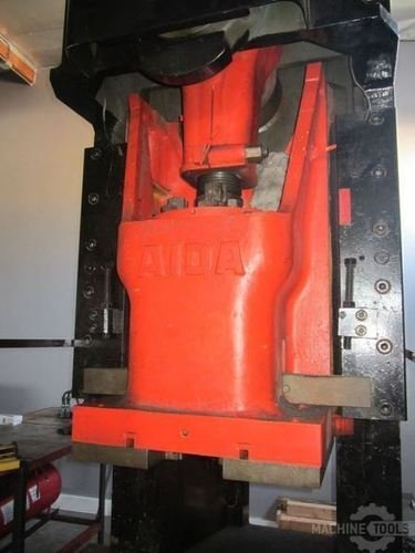 165 ton aida obi punch press 2621c